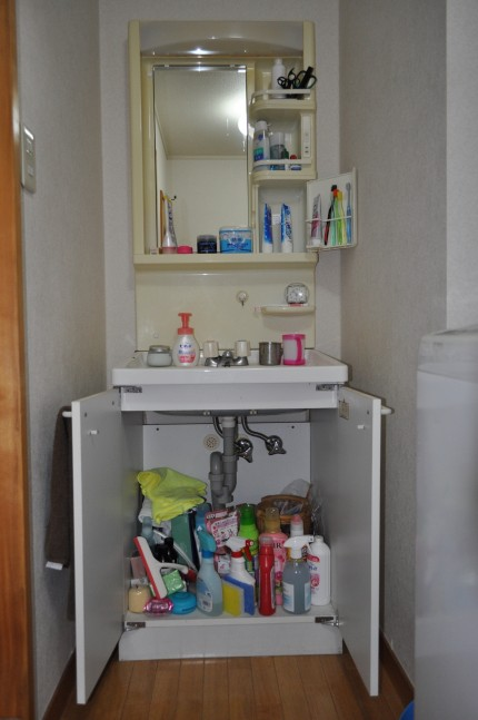洗面台整理収納